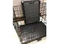 Dog cage and gear