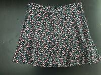 New Look Floral Skirt Size 10