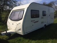 4 berth caravan and awning, tow and go package