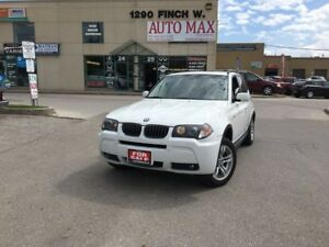 2006 BMW X3 3.0i, Sunroof, Mint Condition