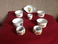 Royal Worcester Evesham assorted items