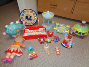 In the Night Garden Toy Lot