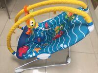 Tiny Love Gymini Bouncer (Under The Sea) like new