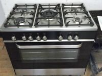 KENWOOD RANGE COOKER+FREE BH ONLY POSTCODES DELIVERY & 3 MONTHS GUARANTEE