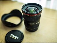 Canon 17-40mm L f4 Wide Angle Lens