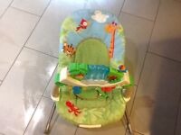 Fisher price rainforest bouncing chair