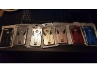 Job Lot 250+ I Phone 7 Plus, Amour Case Multiple Colours