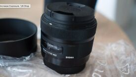 Sigma ART Lens 30mm f/1.4 for Canon As New