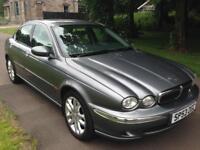 JAGUAR X-TYPE 2.0 V6 4dr (grey) 2003