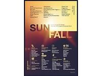 Sunfall festival ticket £50