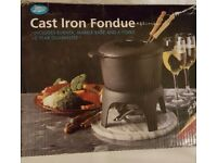 5£ NEW Boots Iron Fondue