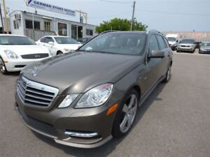 2012 Mercedes-Benz E-Class E 350 4MATIC & NAVI & BACK UP CAMERA