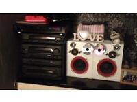 Kenwood stacker ** CD player , cassette player, speaker, custom hifi **