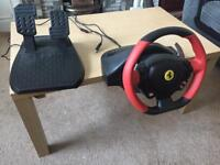 Xbox one Ferrari 458 racing steering wheel