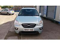 KIA CARENS 2.0 CRDi DIESEL 7 SEATER AUTO AUTOMATIC 2 OWNERS FSH SPARE KEY 2007
