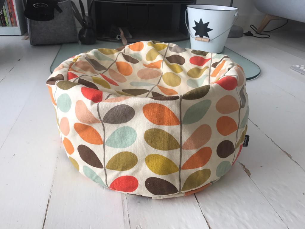 Orla Kiely Heals Multi Stem Bean Bag Pouffe