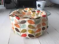 Orla Kiely/Heals Multi Stem Bean Bag Pouffe