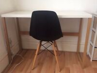 Black Eames Style Desk Chair