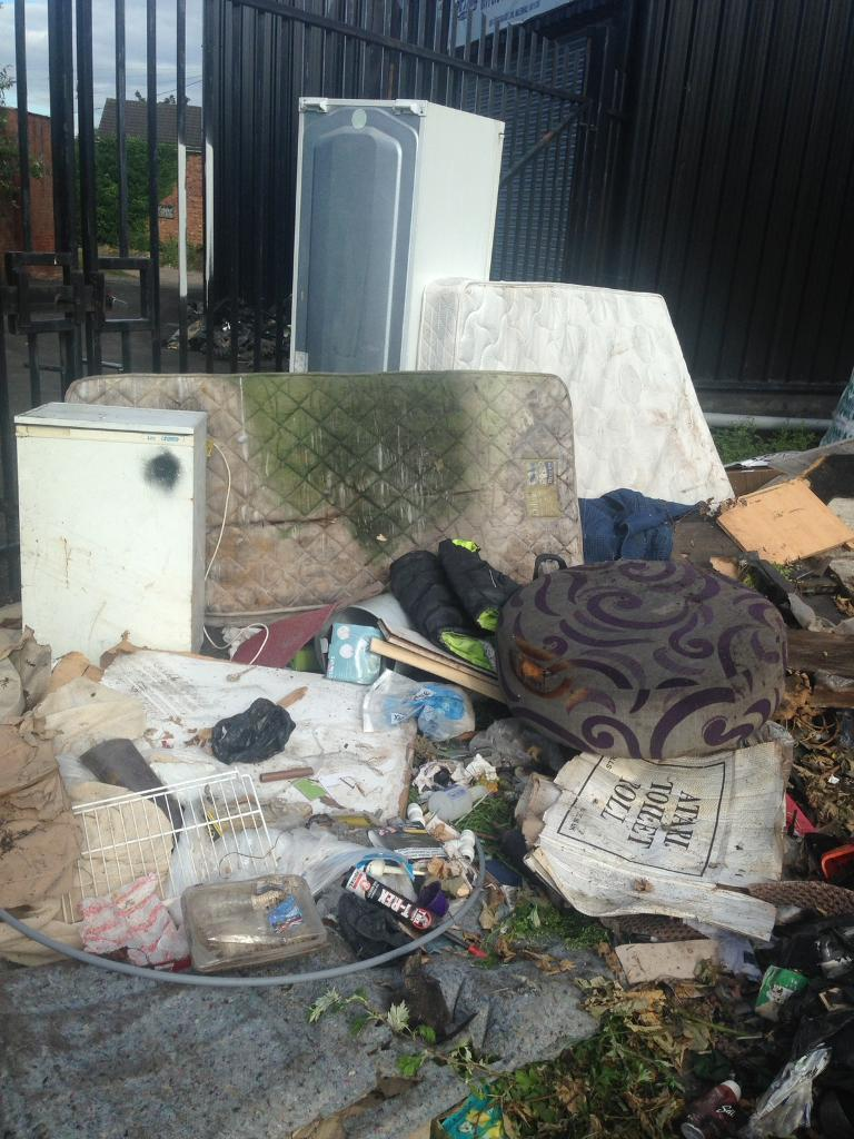 Rubbish clearance and waste removal.