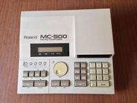 Roland MC500 Sequencer