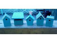Hand crafted BIRD BOXES