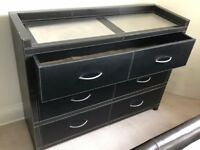 Leather Chest Of Drawers