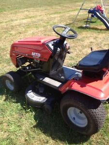 MTD 12.5 hp Lawn Tractor and Mower
