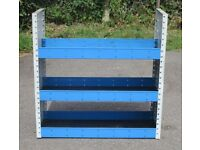 Van Shelving / Racking - suitable for small to medium van - two sizes available
