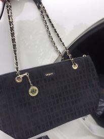 Genuine DKNY Monogram Bag
