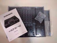 Allen & Heath Xone 4d DJ mixer excellent condition with decksaver and original box