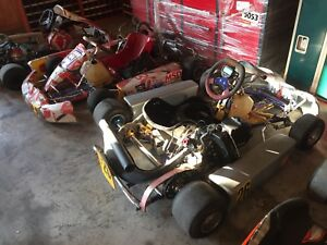 Briggs and stratton and rotax 125cc