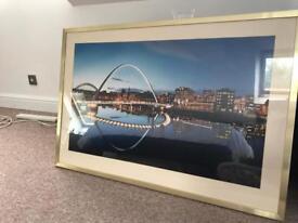 Newcastle framed photo