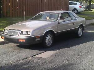 1988 Chrysler Lebaron Coupe (2 door)