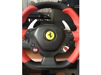 Ferrari Xbox one steering wheel used once,was£79.99,offers around £50