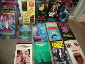 VHS DVD horror horreur classic cult vhs  freddy jason myers