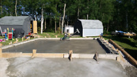 Garage slabs and more