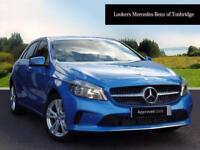 Mercedes-Benz A Class A 180 D SPORT EXECUTIVE (blue) 2017-06-14