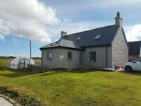 Lag Nan Cruach Farm House isle of Tiree with 3 bed summer house