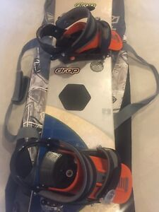 Burton Snowboard with Carrying Case and Boots