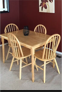 Perfect table and chairs