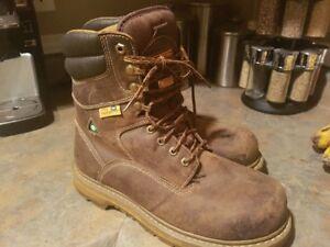 Mens Dakota Steel Toe Boots