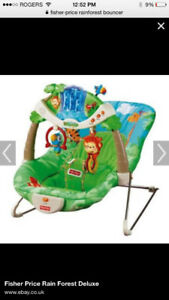 Fisher price bouncy/vibrating chair