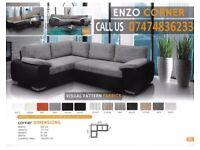 Enzo corner sofa bed qDKO