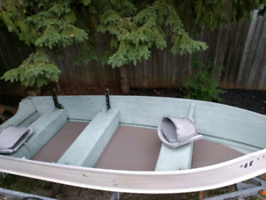 14 ft Aluminum Boat Package for sale