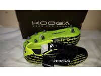 2 pairs of Brand new men's, adult's Kooga control rugby boots size 13