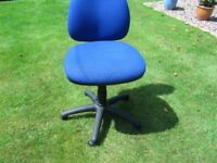 2-office chairs or computer station adjustable excellent condition