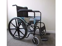 Self propelled foldable mobility BUDDY wheelchair, hardly used, fantastic condition
