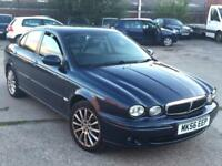 Jaguar X-TYPE 2.0DIESEL Classic,2 OWNER,NEW CLUTCH&FLYWHEEL,LEATHER HEATED SEATS