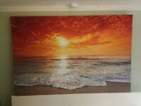 Large Seascape Picture-Donated To Raise Funds For A Local Charity