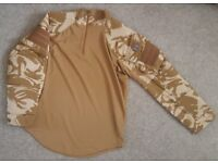 NEW Genuine British Army Latest Issue UBACS Surplus PCS Desert Shirt